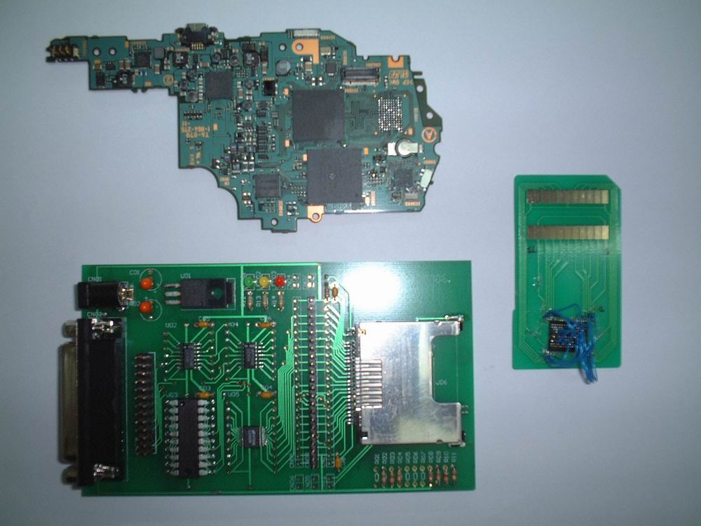 forums ps2dev org :: View topic - Read PSP NAND Flash DATA to PC