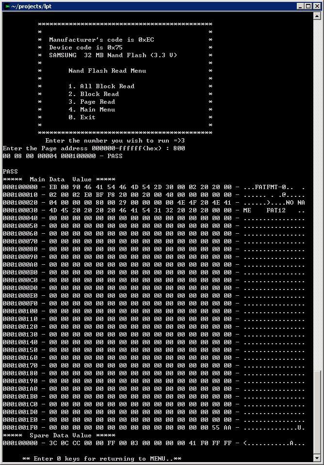 0okm: Read PSP NAND Flash DATA to PC