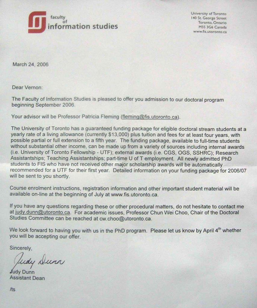 Filipino Librarian: PhD - Information Studies