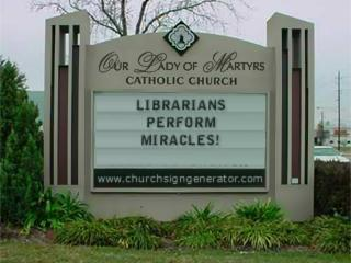 Librarians Perform Miracles!