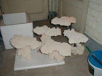 nanozine r alisation d un d cor sur pilotis en ciment. Black Bedroom Furniture Sets. Home Design Ideas