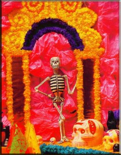 7a842973bb0b Se nombra a la muerte por ser Ella la principal invitada en los altares que  se levantan en honor a nuestros seres difuntos
