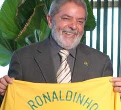 Lula X Ronaldinho Fenômeno