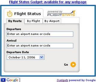offer flight status