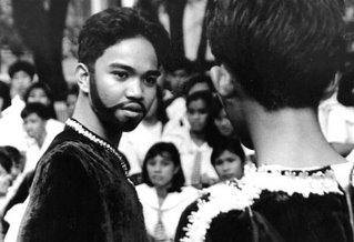 Rizal High School Shakespeare Festival 1993; shallow depth of field; photo by Atty. Galacio