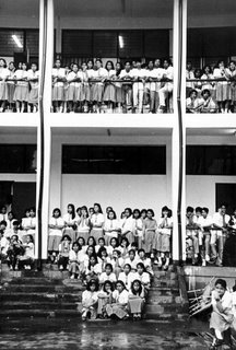 Rizal High School Main Building 1993; photo by Atty. Galacio