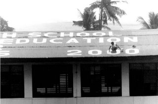 Rizal High School, Main Building; scale; photo by Atty. Galacio