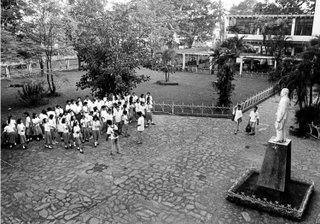 Rizal High School, Amang Hall, 1992; viewpoints; photo by Atty. Galacio