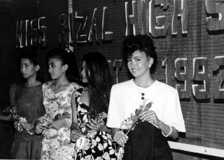 Flash fall off; inverse square law; use the proper viewpoint; Rizal High School 1992; photo by Atty. Galacio