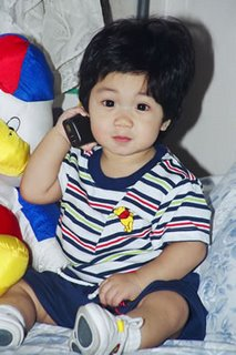 My cute nephew Gino who looks like me; photo by Atty. Galacio