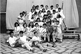 After the formal shots, take candid shots of the students and teachers; 1992; photo by Atty. Galacio