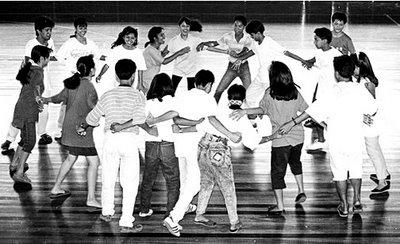 RHS folk dancers; shapes; fill the frame; photo by Atty. Galacio