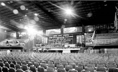 Rizal High School gym 1992; B-setting; photo by Atty. Galacio
