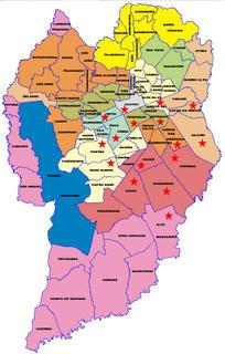 mapa de curitiba