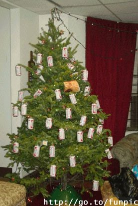 Christmas Decorations With Beer Cans Home Decorating Ideas