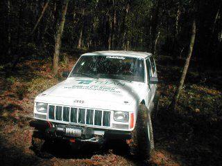 Jeep Cherokee winch mount