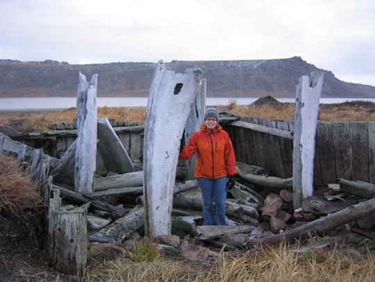 Carrie and Core's Adventure in Sivuqaq: October 2006