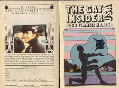 Cover of 'The Gay Insider USA' by John Francis Hunter