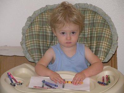 Little Serious Boy