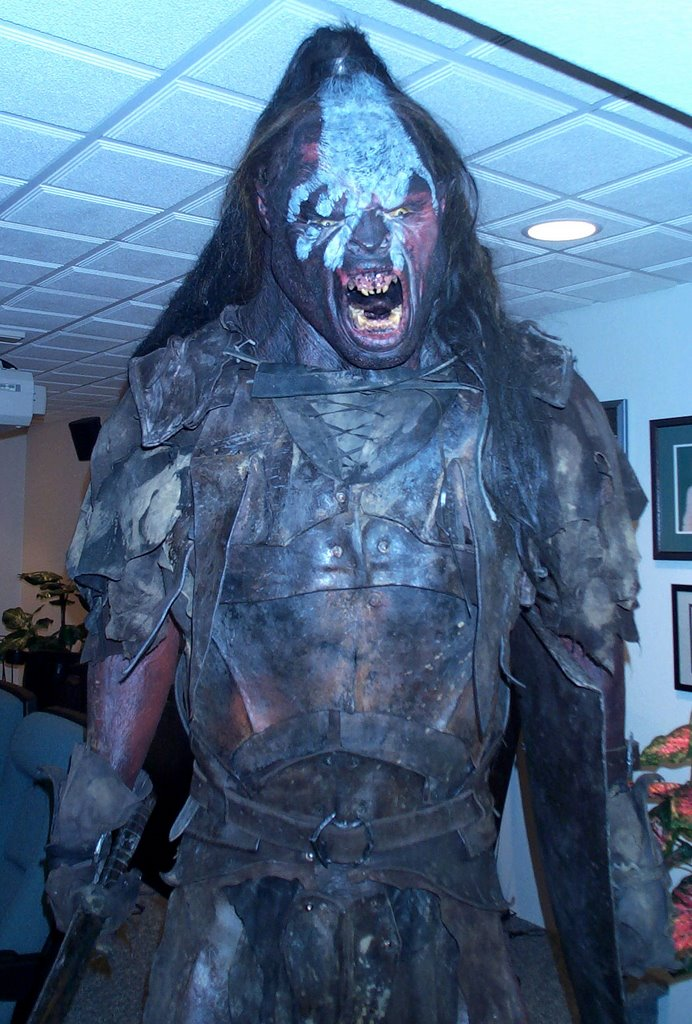 Orc Lotr Costume Lord of the Rings Prop...