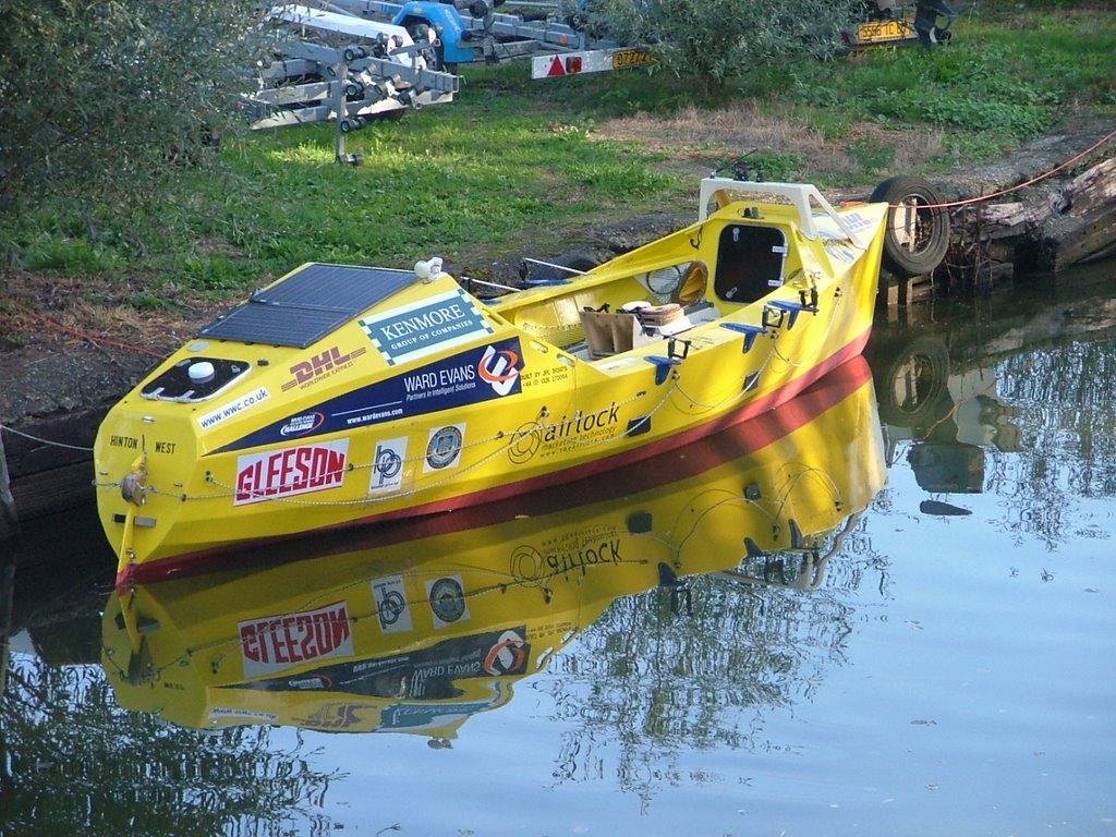 Ocean rowing boat for sale