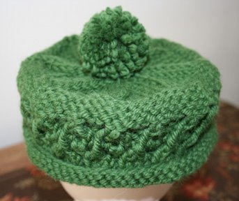 68341668ef2ba Dropped a Stitch: Green Hat