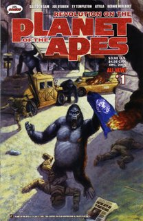 Revolution on the Planet of the Apes #1