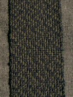 handwoven shadow weave swatch