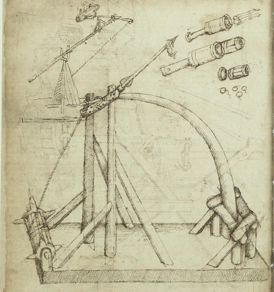 Hai Le Thi Blog Engineering The Renaissance Catapult Schematics