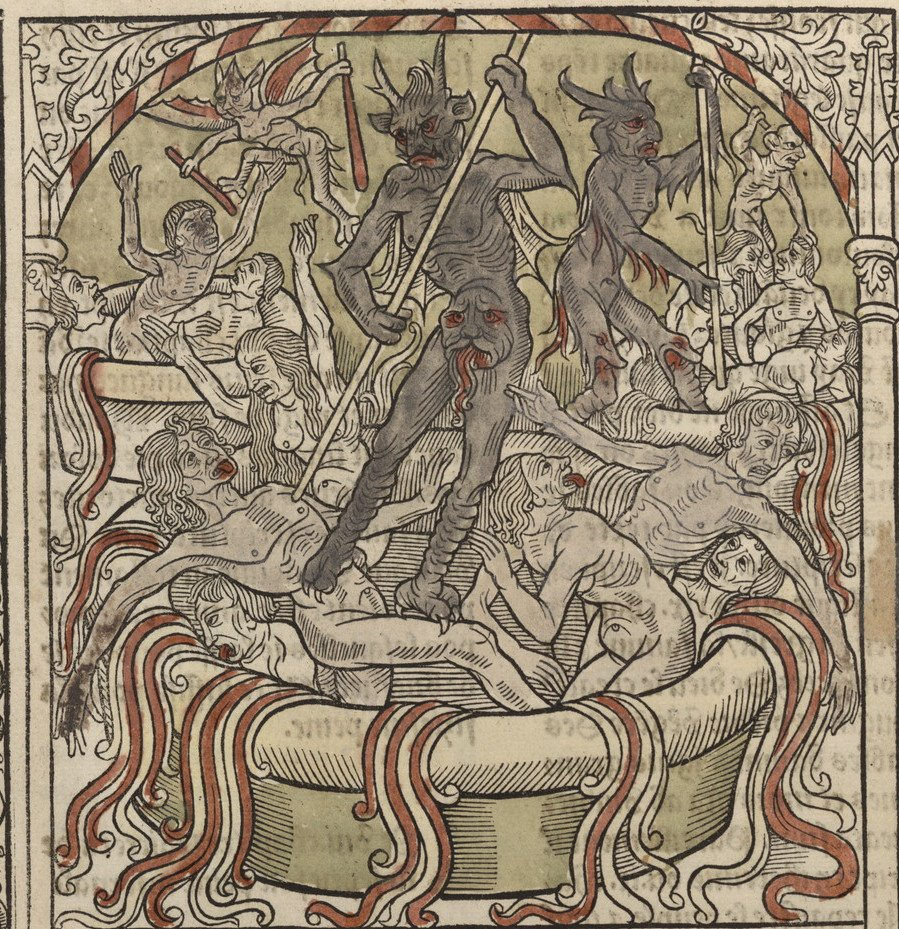 Bibliodyssey Ars Moriendi