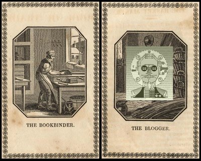 bookbinder and blogger