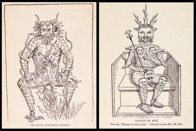 2 images of devils 1904 book