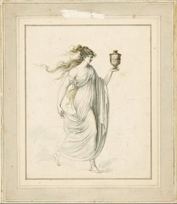 Lady Hamilton as the goddess of health