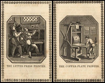 letterpress and copperplate printers