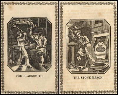 stonemason blacksmith