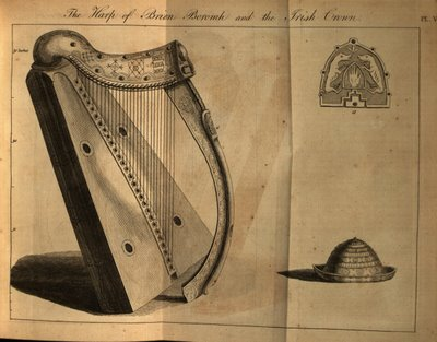 The Harp of Brian Boromh and the Irish Crown