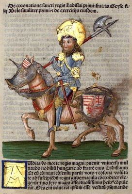 Chronica Hungarorum - Knight on Horseback