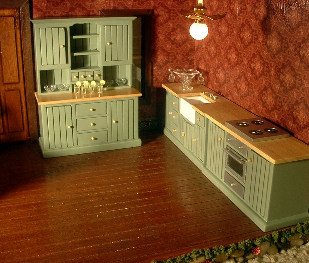 My Dream Dollhouse My Country Kitchen Set