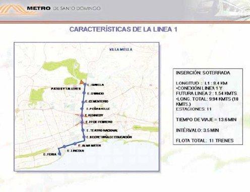 Santo Domingo Metro Map.Santo Domingo Metro Santo Domingo Metro