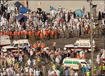 The View From Fez Hajj Tragedy Stampede Kills 345 Pilgrims