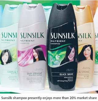 introduction of sunsilk Among the local brands, sunsilk is the most commonly used brand in  sunsilk  hair products have also started introducing products for men.