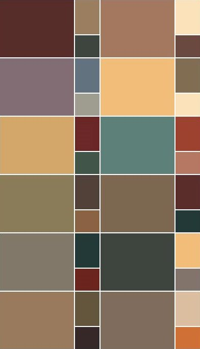 Arts And Crafts Paint Color Schemes