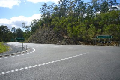 Good motorcycle roads Brisbane - Maleny