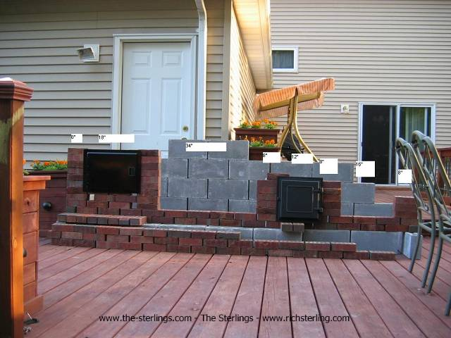 BBQ Blog: Building a Brick BBQ Pit