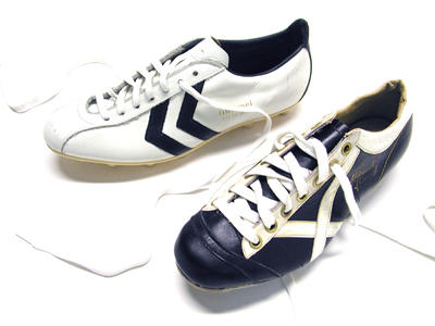 vintage hummel football boots