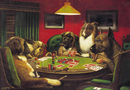 The One Blog Articulo La Historia Detras De Perros Jugando Poker