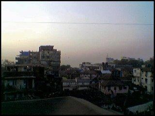Näkymä hotellista Intian Mumbaista
