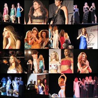 Fashion TV, Miss Universum ja intialaisen muotisuunnittelijan Sanjana Jonin luomuksia