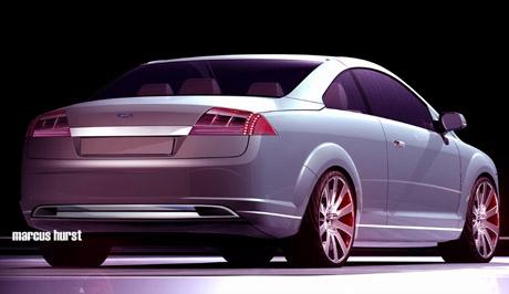 Ford Focus Cc Vignale Trasera Del Vignale Concept
