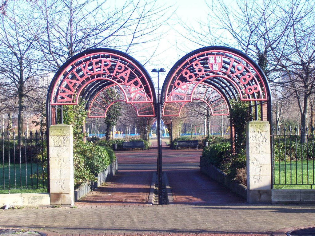 Photographs Of Newcastle Walker Park